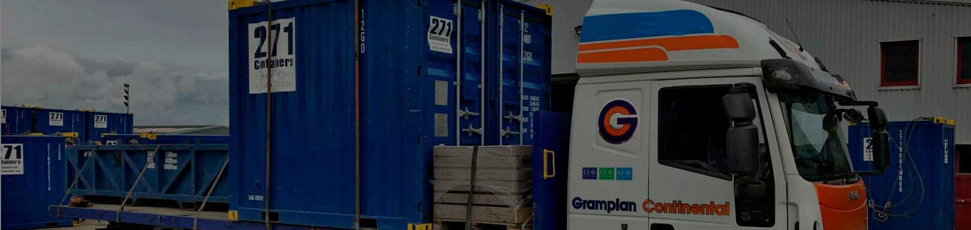 Морские 10 футовые контейнеры